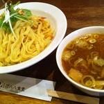 ガハハ食堂 - 海老出汁醤油つけ麺
