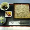 楓庵 - 料理写真:ざるそば