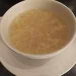 中国料理 桃翠 - コーンスープ