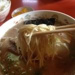 Daikouramen - 中太麺