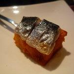 レストラン デビッド・セニア - ☆そちらに添えられたイワシの温前菜☆