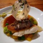 レストラン デビッド・セニア - ☆苦手な人には鯛で対応して頂きましたぁ◎☆