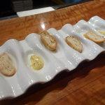 レストラン デビッド・セニア - ☆ミニミニガーリックトースト!(^^)!☆