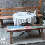 オーガニックキッチン&ワインバー レコッコレ - 可愛いお庭