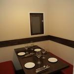 レストラン 愛と胃袋 - 4名様用の個室