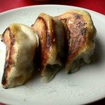 山城 - 焼き餃子、ホント美味しいです!