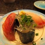 伊豆太郎 - 地魚の3種盛り