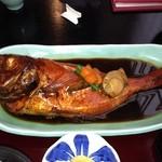 海鮮料理 竹ノ内 - 金目鯛の煮付け