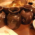 鍋ぞう 川崎 - タレ壷は4種