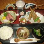 16686038 - メヒカリの唐揚げ定食