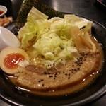 坊屋 - 黒坊厚肉ラーメン
