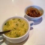 China's Kichtin 莉華 - 玉子スープとザーサイ