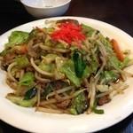 まつもとの来来憲 - 野菜炒め 値段忘れたけど450円だったような。