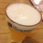 ヴィレッジ ヴァンガード ダイナー - 迎え酒スタイラス。ヒューガルデン安くてよいね!