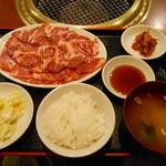 おくう - パワーランチ(米澤豚肩ロース肉200g)