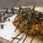 洛二神 - チャーシューきざみご飯