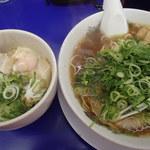 来来亭 - トロ肉チャーシュー丼定食