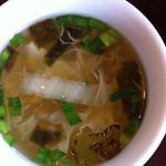 ナラヤン - セットに付いてるスープ。