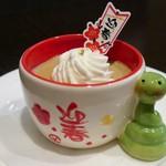 16694823 - 季節限定 日本茶のとろとろプリン(480円)