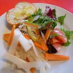 フォレスタ - 自家製の野菜マリネのサラダ仕立て