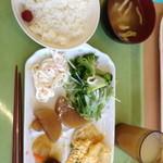カフェテリアふじ - 朝食