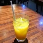 かぼす - セットのオレンジジュース