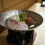 季一遊 - 真鯛塩鍋 塩生姜汁仕立