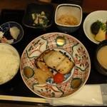 16699492 - 焼魚御膳1200円 ※鰆の味噌焼き