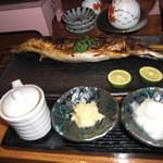 鮨処 小町 - 浜焼きの鯖¥2200