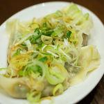 16700663 - 鶏ネギ焼き餃子