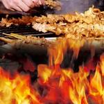 鳥ざんまい - 料理写真:三日仕込みの名物とり皮。外はパリッツ、中はモッチリが自慢です。(とりかわ塩・タレ/ 80円~)