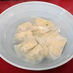 百老亭 - 2012.12 炊餃子(スイギョウザ、500円)