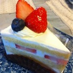 ぶるうまうんてん - 苺のショートケーキ