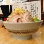 麺屋 愛0028 - らー麺、麺増し、野菜増し