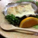 かね八 - 牡蠣グラタン