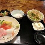 すし元 - 1200えん 特選海鮮丼2013.1
