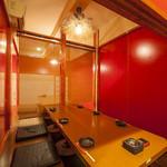 べんがら酒場 - 特別感を演出する個室を用意しています
