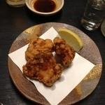 つきの井 - 鶏の竜田揚♪ お肉もあると嬉しい♪