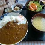 星野屋 - ヘルシー煮カレー(大盛り・800円