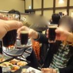 清水亭 - 全員で乾杯!!