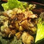 16706509 - 地鶏もも焼き定食  1350円