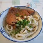 讃岐製麺所 - かけ(太麺)&あげ