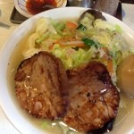 16707279 - タンメン+焼豚+燻玉