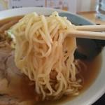 16707486 - 煮干しラーメン¥650の細麺(H25.1.7撮影)