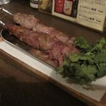 ヒシモ - ラムの串焼き