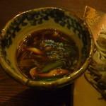 16709871 - 温つけカレーそば大盛(つけ汁)