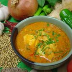 インド家庭料理 ラニ - チキンカレー