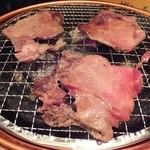 平和苑 - タン塩(1200円)