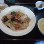 中国料理 旬来 - 中華丼セット 750円