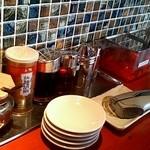 ラー麺 ずんどう屋 - 薬味